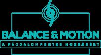 Balance and motion logo